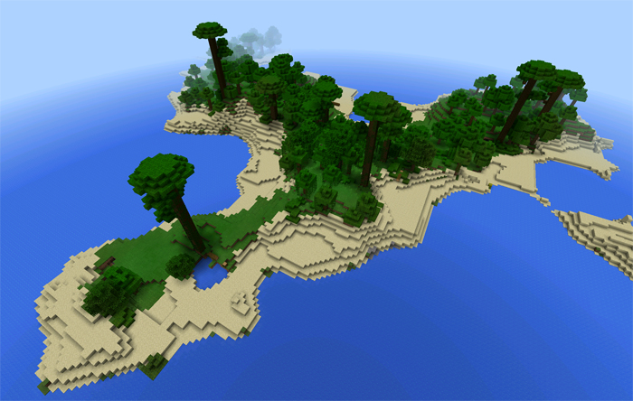 Jungle island Survival - Maps - Mapping and Modding: Java Edition ...