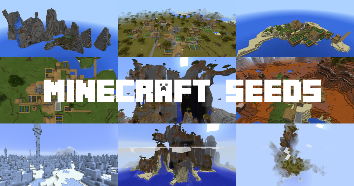 Minecraft Seeds   The best Minecraft seeds collection for PC