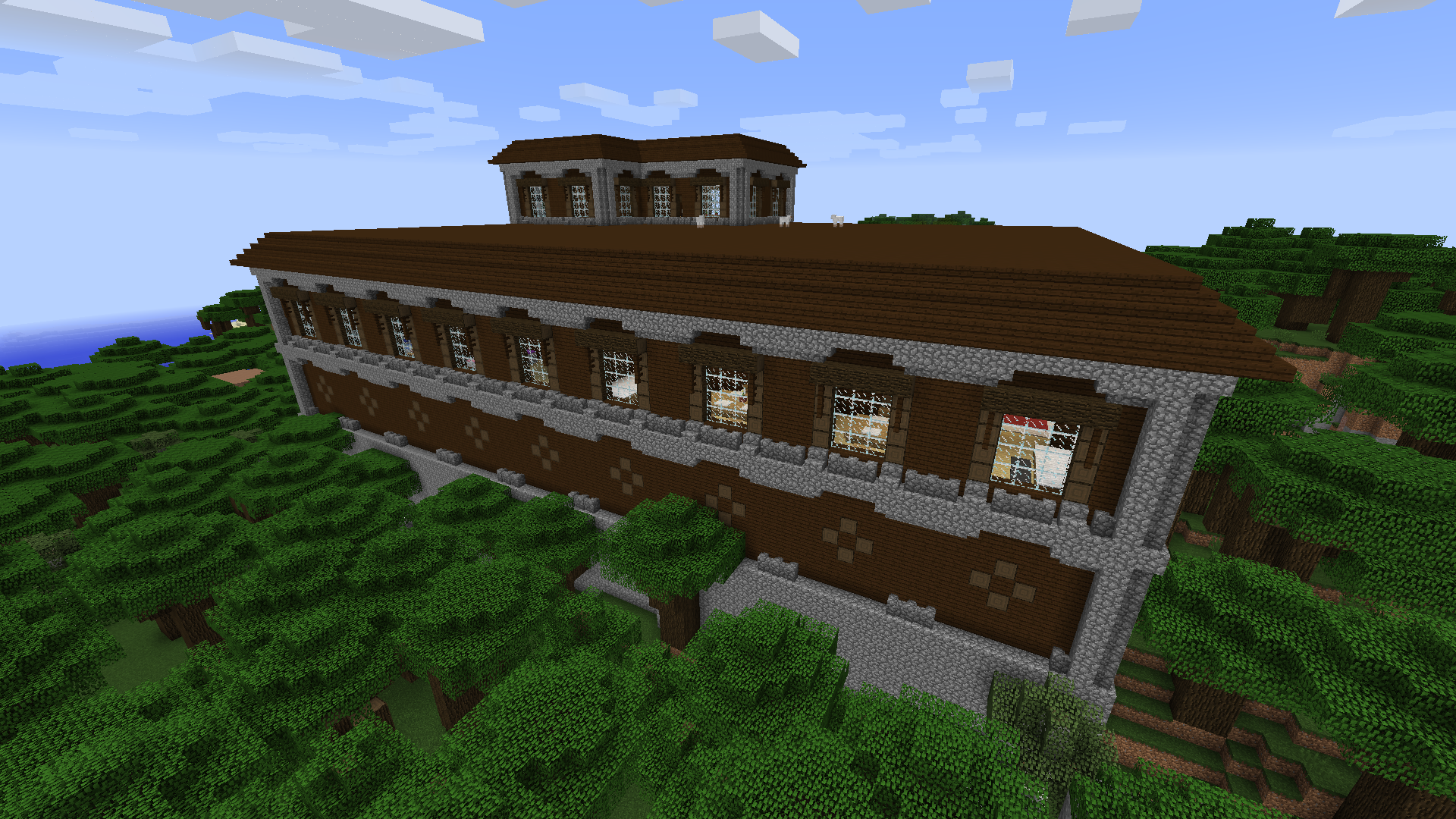 Pc 1 11 Woodland Mansion Minecraft Seeds